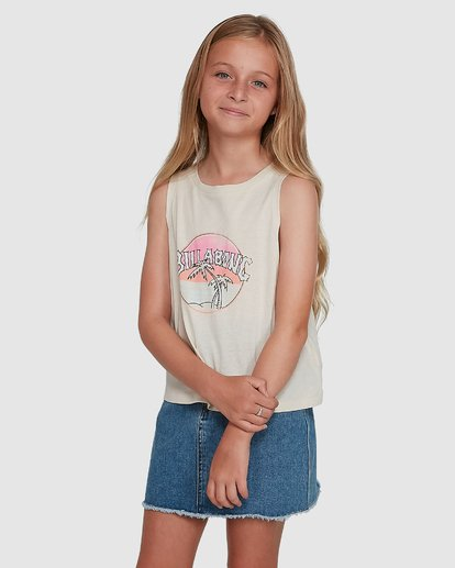 2 Sun Faded Tank White 5504491 Billabong