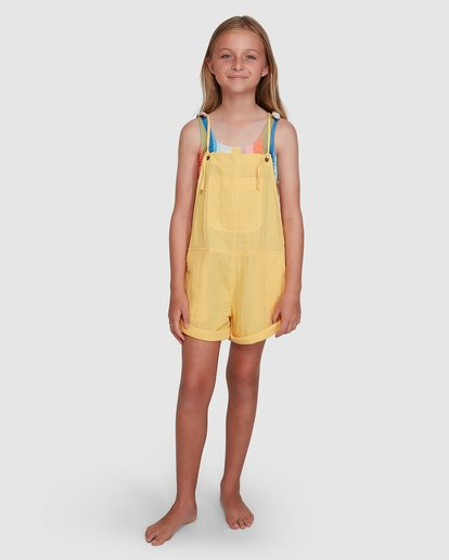 6 Montana Playsuit Yellow 5504521 Billabong