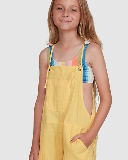 4 Montana Playsuit Yellow 5504521 Billabong