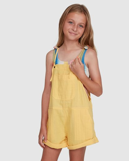 1 Montana Playsuit Yellow 5504521 Billabong
