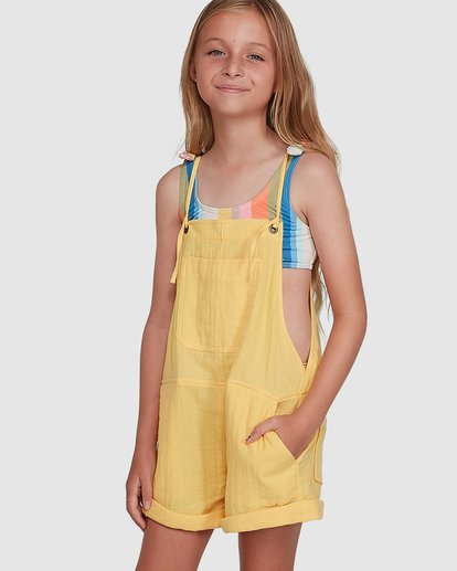 0 Montana Playsuit Yellow 5504521 Billabong