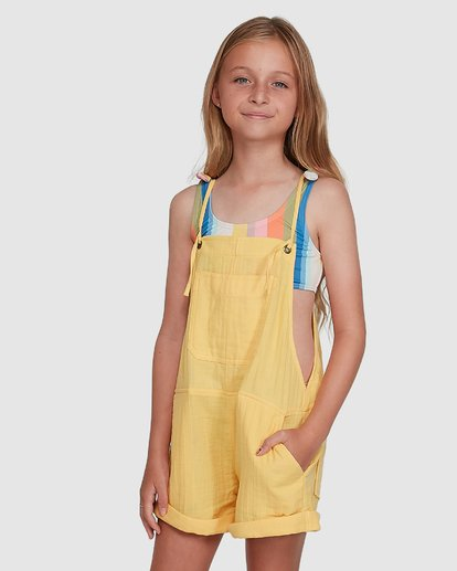2 Montana Playsuit Yellow 5504521 Billabong