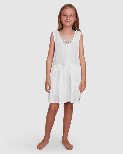 6 Girls 6-14 Cabarita Playsuit White 5504622 Billabong