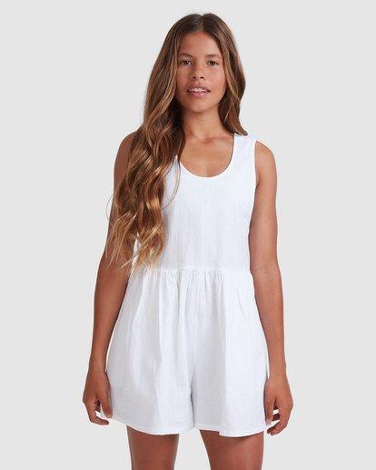 1 Girls 6-14 Cabarita Playsuit White 5504622 Billabong
