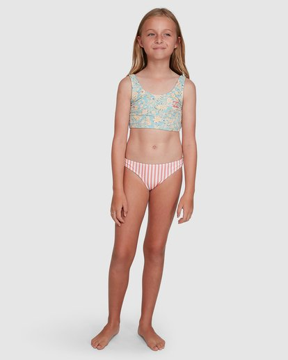 6 Stoked Stripe Bikini White 5504706 Billabong