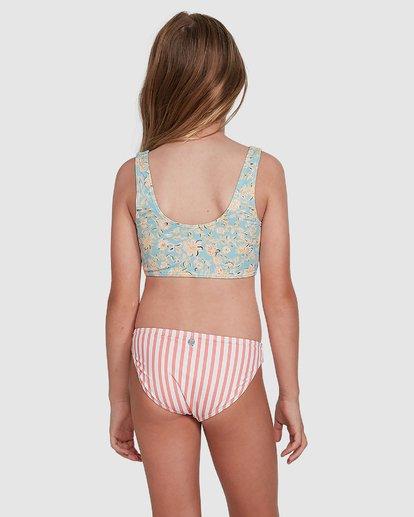 3 Stoked Stripe Bikini White 5504706 Billabong