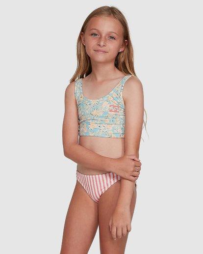 2 Stoked Stripe Bikini White 5504706 Billabong