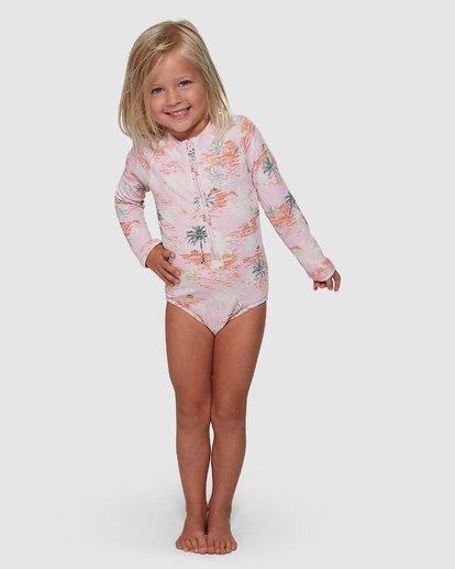 0 Sweet Sun One Piece Rash Vest Pink 5504712 Billabong