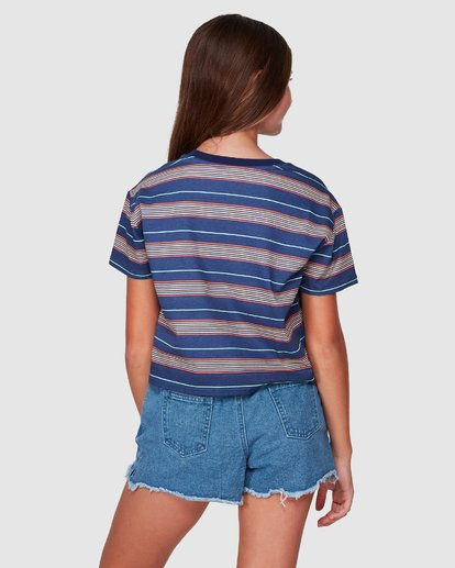 3 Delta Tee Blue 5507001 Billabong
