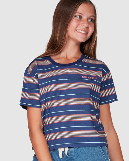 0 Delta Tee Blue 5507001 Billabong