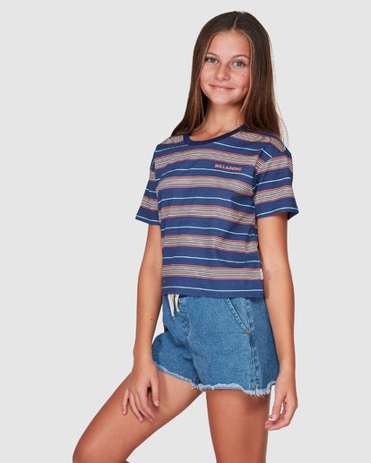 2 Delta Tee Blue 5507001 Billabong