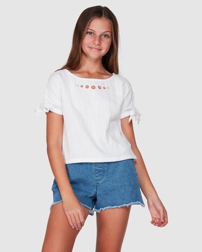 1 Luna Top White 5507093 Billabong