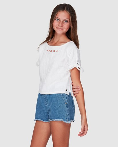2 Luna Top White 5507093 Billabong