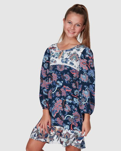 1 Gypsy Dress Blue 5507472 Billabong