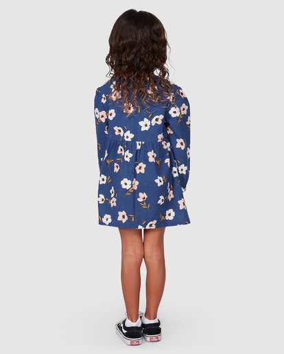 2 Lets Go Long Sleeve Dress Blue 5507476 Billabong