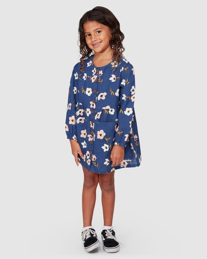 0 Lets Go Long Sleeve Dress Blue 5507476 Billabong