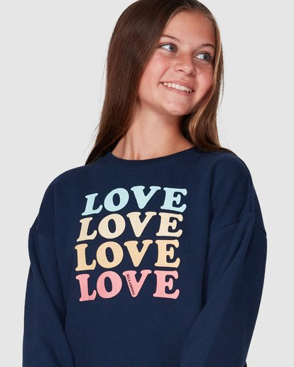 4 Love Crew Black 5507734 Billabong