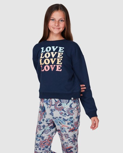 1 Love Crew Black 5507734 Billabong