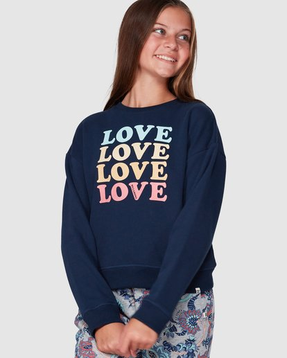 0 Love Crew Black 5507734 Billabong