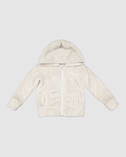 3 Little Ted Hooded Zip Thru Grey 5507737 Billabong