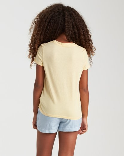 2 Summer Treats Tee Yellow 5508001 Billabong