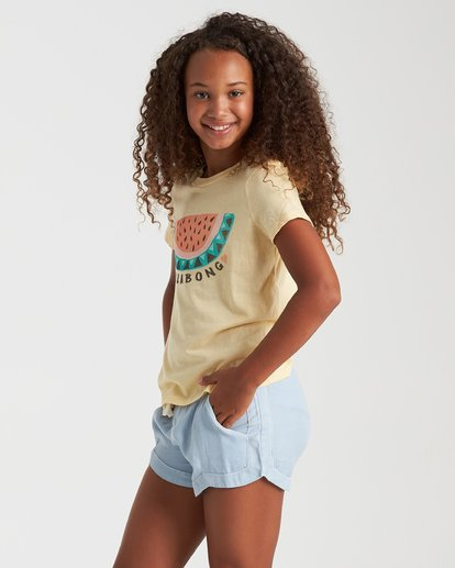 1 Summer Treats Tee Yellow 5508001 Billabong