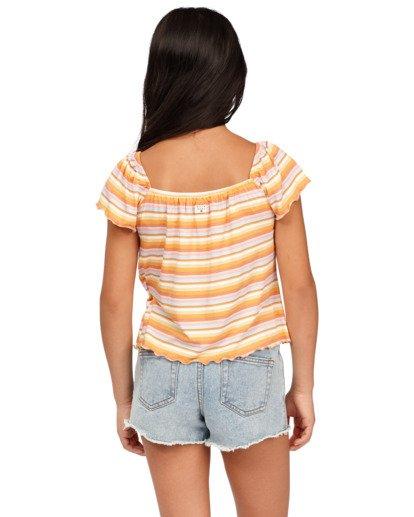 2 Girls 6-14 Drift Away Denim Shorts Blue 5513341 Billabong