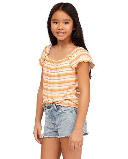 1 Girls 6-14 Drift Away Denim Shorts Blue 5513341 Billabong