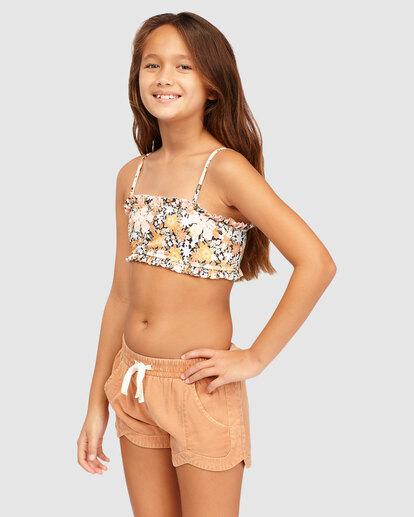 1 Girls 6-14 Mad For You Shorts Beige 5513342 Billabong