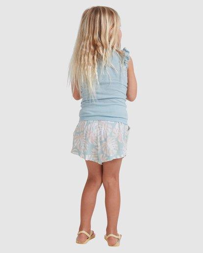 2 Girls 0-5 Shady Palms Shorts Blue 5513343 Billabong
