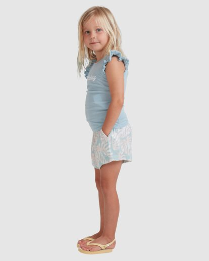 1 Girls 0-5 Shady Palms Shorts Blue 5513343 Billabong