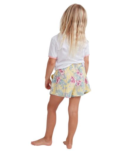 2 Girls 0-5 Island Dream Shorts Yellow 5513344 Billabong