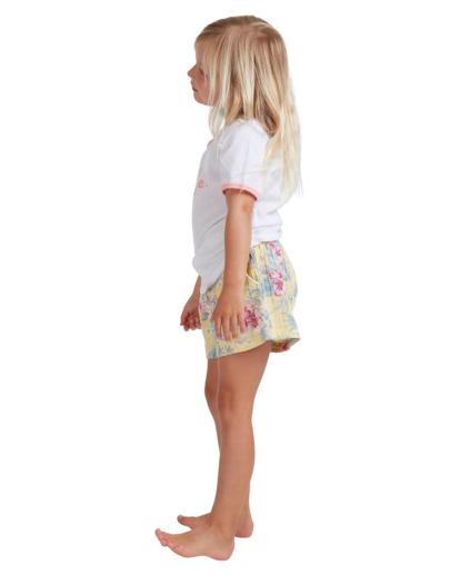 1 Girls 0-5 Island Dream Shorts Yellow 5513344 Billabong