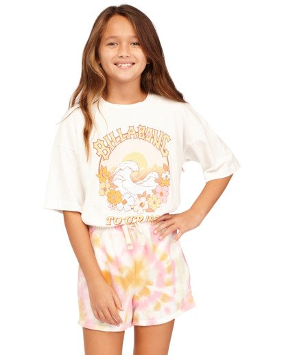0 Girls 6-14 Dreamy Colors Shorts Grey 5513345 Billabong