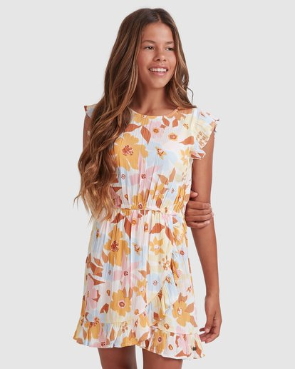 1 Girls 6-14 Walk In The Sun Dress  5513461 Billabong