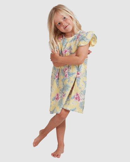 0 Girls 0-5 Island Dream Dress Yellow 5513464 Billabong