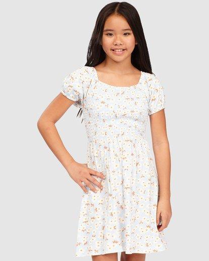 0 Girls' Beach Love Knit Dress Blue 5513466 Billabong