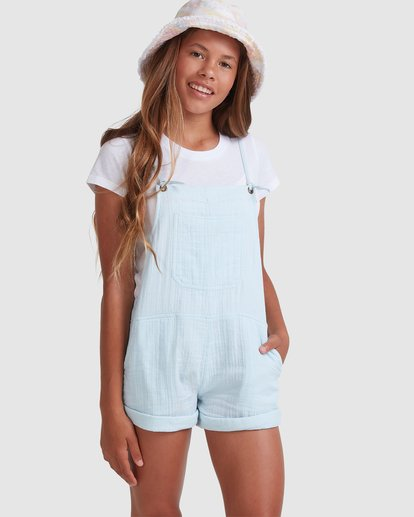 0 Girls 6-14 Montana Jumpsuit Blue 5513521 Billabong