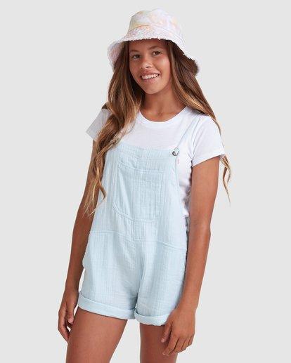 1 Girls 6-14 Montana Jumpsuit Blue 5513521 Billabong