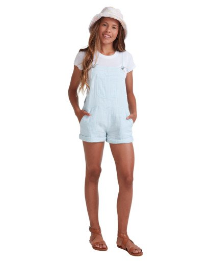 5 Girls 6-14 Montana Jumpsuit Blue 5513521 Billabong