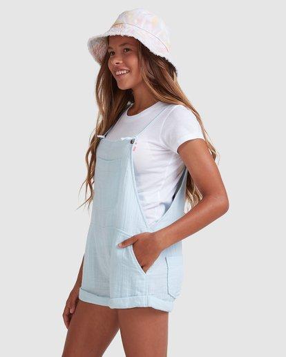 2 Girls 6-14 Montana Jumpsuit Blue 5513521 Billabong