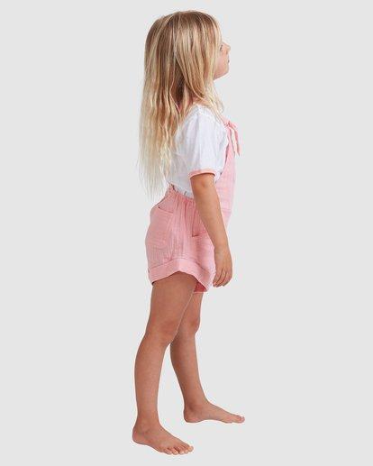 1 Girls 0-5 Sundance Jumpsuit Pink 5513522 Billabong
