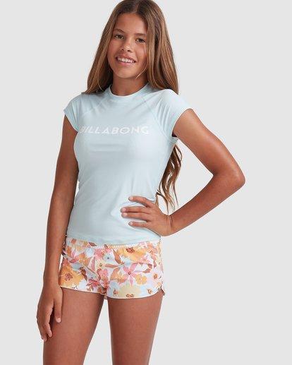 0 Girls 6-14 Walk In The Sun Swim Shorts  5513582 Billabong