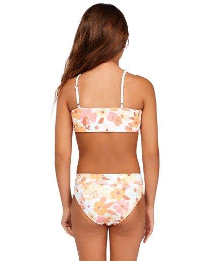3 Girs 6-14 Walk In The Sun Bandeau Bikini  5513702 Billabong