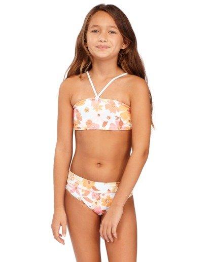 0 Girs 6-14 Walk In The Sun Bandeau Bikini  5513702 Billabong