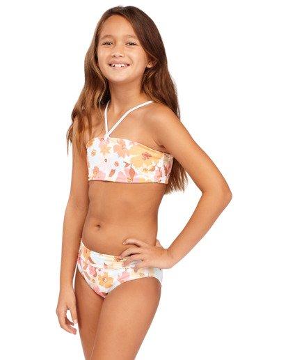 2 Girs 6-14 Walk In The Sun Bandeau Bikini  5513702 Billabong