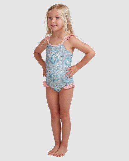1 Girls 0-5 Lil Folk One Piece Blue 5513712 Billabong