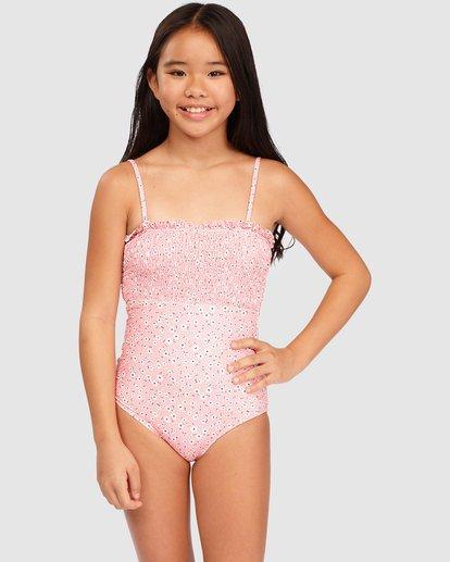 0 Girls' Feelin Ditsy One-Piece Swimsuit  5513715 Billabong