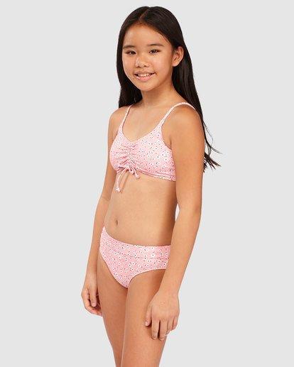 1 Girls' Feelin Ditsy Drawstring Tank Bikini Set  5513716 Billabong