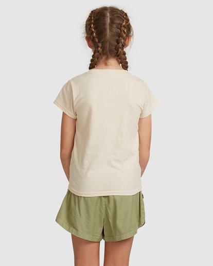3 Dancer Short Sleeve Tee White 5517001 Billabong